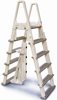 Confer Plastics Heavy Duty Above Ground Pool Ladder