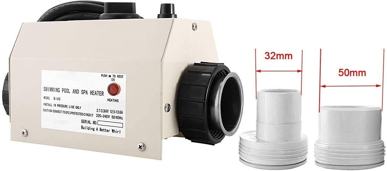 IIS 220V 240V 3KW Premium Quality Heat Pump Water Heater