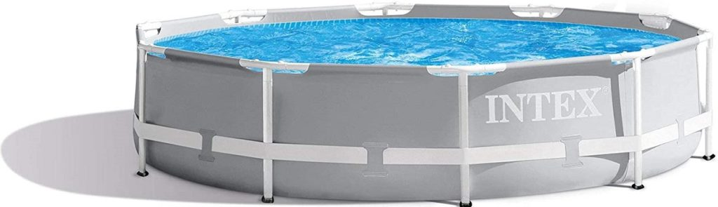 Intex 10 Feet × 30 Inches Prism Frame Above-ground Swimming Pool