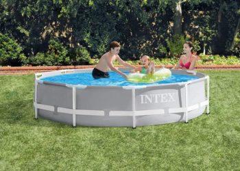 Intex Prism Frame Above Ground Swimming Pool Set